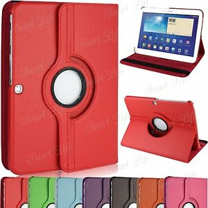Leather-360-Degree-Rotating-Case-Cover-For-Apple-iPad-5-4-3-2-Samsung-Tab-Note