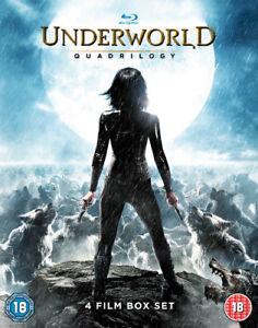 Underworld Quadrilogy DVD (2016) Kate Beckinsale ***NEW*** 5017239152733