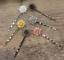 Hair Clips Barrette Hair Pins Women Antiqued Head Jewelry Headdress 3pcs//Pack