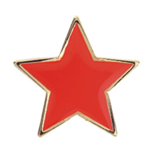 Star Badges Free Delivery Star Shaped Enamel Badges In Four Colours