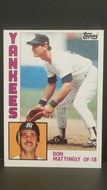 1984 Topps Don Mattingly Rookie #8 -NM to Mint