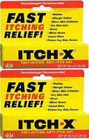 Itch-x Anti-itch Gel 1.25 Oz (2 Pack)