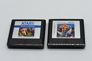 Atari-5200-Joust-amp-Missile-Command-LOT-2-Games-Cartridge-only-FREE-SHIP