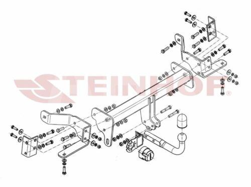 Opel Antara 07-15 Attelage fixe+faisc 7b uni Compl.