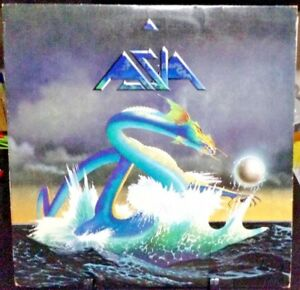ASIA-Self-Titled-Album-Released-1982-Vinyl-Record-Collection-US-pressed