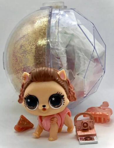 LOL Surprise PUPSTAGRAM Winter Disco Pet RARE GOLD Ball NEW Instagram