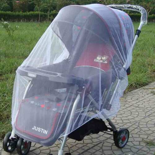 Baby Mosquito Cot Cat Net Pushchair Moses Basket Pram Carseat Stroller Buggy M