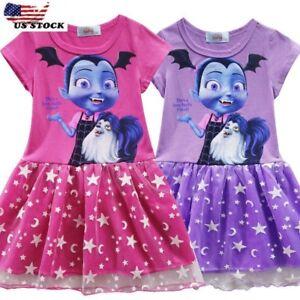 Kids-Girls-Vampirina-Cartoon-Cosplay-Costume-Party-Dresses-Fancy-Dress-O125A