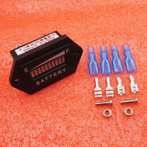 12V BATTERY STATUS CHARGE INDICATOR MONITOR LED DIGITAL METER GAUGE