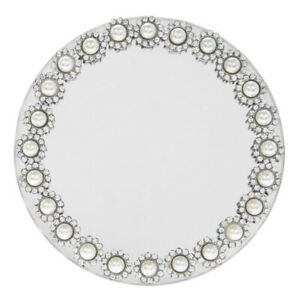 Mirror-And-Diamonds-Pearls-Candle-Display-Plates-Wedding-Mrs-Hinch-20cm-or-10cm
