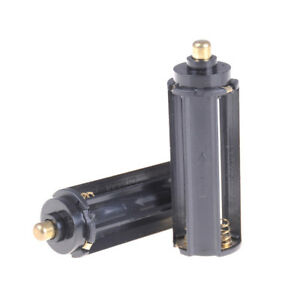 2X-AAA-Battery-Plastic-Holder-Box-Case-Cylindrical-Type-For-18650-Flashlight-BPF