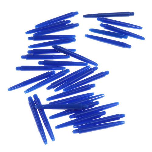 30 Stück Nylon Dartschäfte Darts Schäfte Shafts 43mm Länge