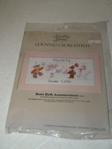 Cross-Stitch-Kit-Something-Special-Bears-Birth-announcement-24-034-X14-034