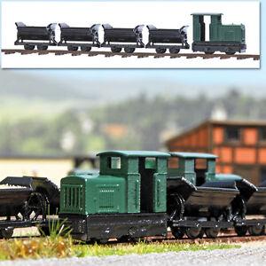 BUSCH-8070-Spur-N-Feldbahn-Set-NEU-in-OVP
