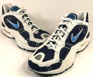 6e42369a Nike Air Terra Endeavor Mens 10 Running Shoes White Blue New Old ...