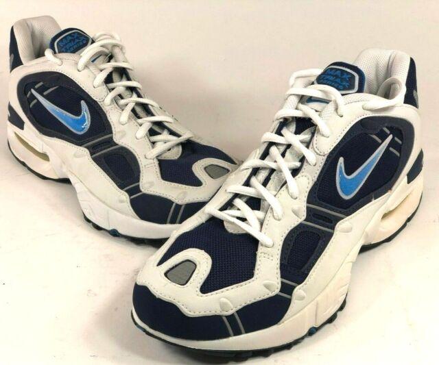 Old Blue Perish White Stock Womens 7 Air Walking Shoes Nike
