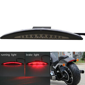 Harley Breakout Cvo >> Details About Led Brake Tail Light W Smoke Lens For Harley Breakout Cvo Fxsbse 2014 2015 Fxsb