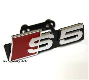 Neuf-S5-Badge-Grille-Autocollant-Embleme-Logo-Signe-S-A5-RS5-Rs-Audi-Calandre