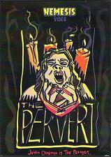 The Pervert DVD Nemesis Video Justin Chapman Cult Horror Low Budget SOV