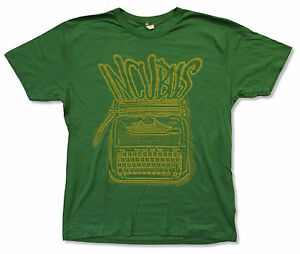 INCUBUS-034-TYPEWRITER-GREEN-034-T-SHIRT-NEW-OFFICIAL-ADULT-SOFT
