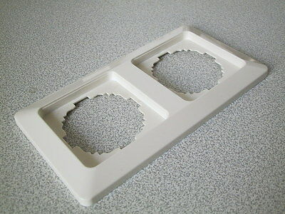 KOPP Abdeckrahmen 2-fach Rahmen MILANO anthrazit-schwarz UP Unterputz 2fach