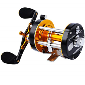 Sougayilang-Fishing-reels-Round-Baitcasting-Reel-Conventional-Reel-Metal-amp