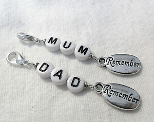 Remember-MUM-DAD-Clip-on-charm-choice-of-2-words