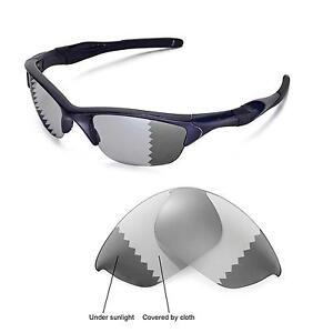 oakley half jacket grey polarized lenses