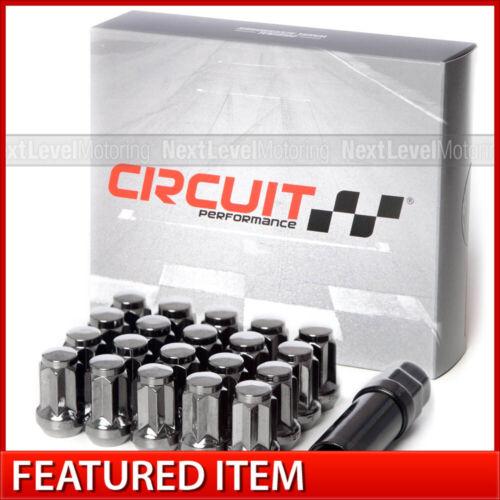 Circuit Hyper Black Star Spline Tuner Lug Nut 12x1.5 Fits Kia Hyundai Genesis