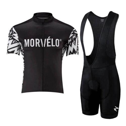 New 2020 men cycling Jersey summer breathable MTB bike shirt bib shorts set Y56