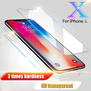 Front-And-Back-Tempered-Glass-360-Screen-Protector-For-Apple-iPhone-X-10-Phone