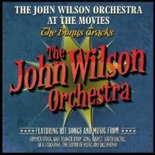 JOHN WILSON ORCHESTRA/CRISWELL - AT THE MOVIES-BONUS TRACKS  CD NEU