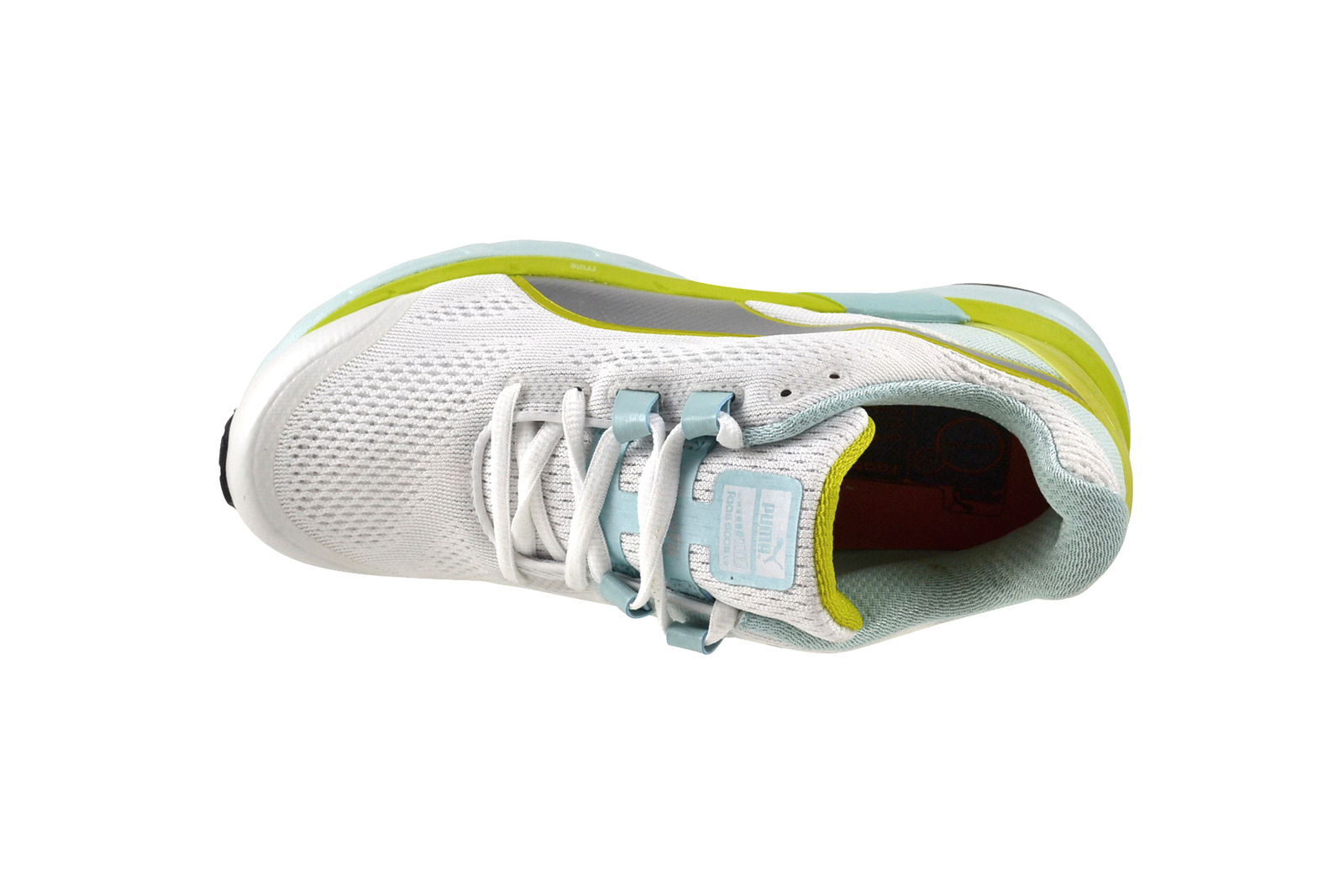 Puma Faas 600 S S S v2 soit + blanc Clearwater jaune argent Chaussures Baskets 188125 01 179b4a