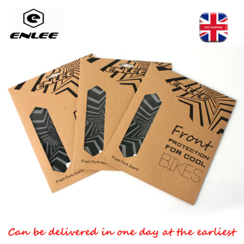 ENLEE Bike Stickers Fork Guard MTB Road XC Bike 3D Protactive Film Anti-Slip 1PC