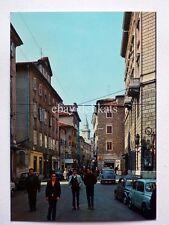 TRIESTE Piazza Cavana animata Fiat 500 vecchia cartolina