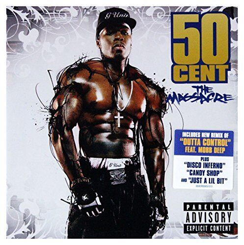 1 of 1 - 50 Cent - The Massacre - 50 Cent CD 86VG The Cheap Fast Free Post