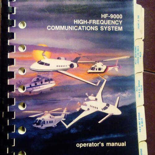 collins rockwell hf 9000 com operator s manual ebay rh ebay com HF Radio Rockwell Collins HF Radio