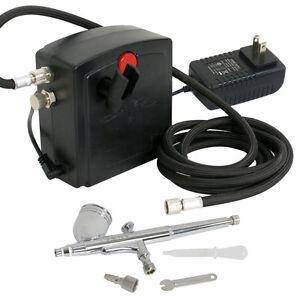 Segawe TC-100 Portable Mini Airbrush Air Compressor Kit