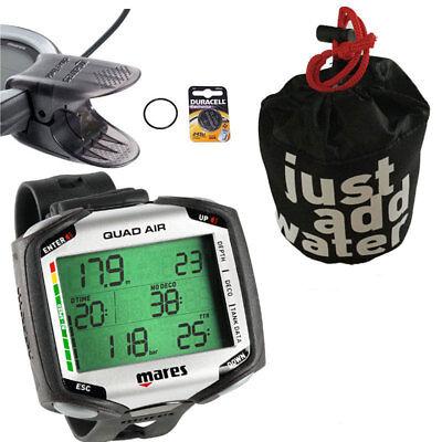Tasche Mares Quad AIR+ USB-Interface-Kabel Neuware Batterie-Kit zusätzlich