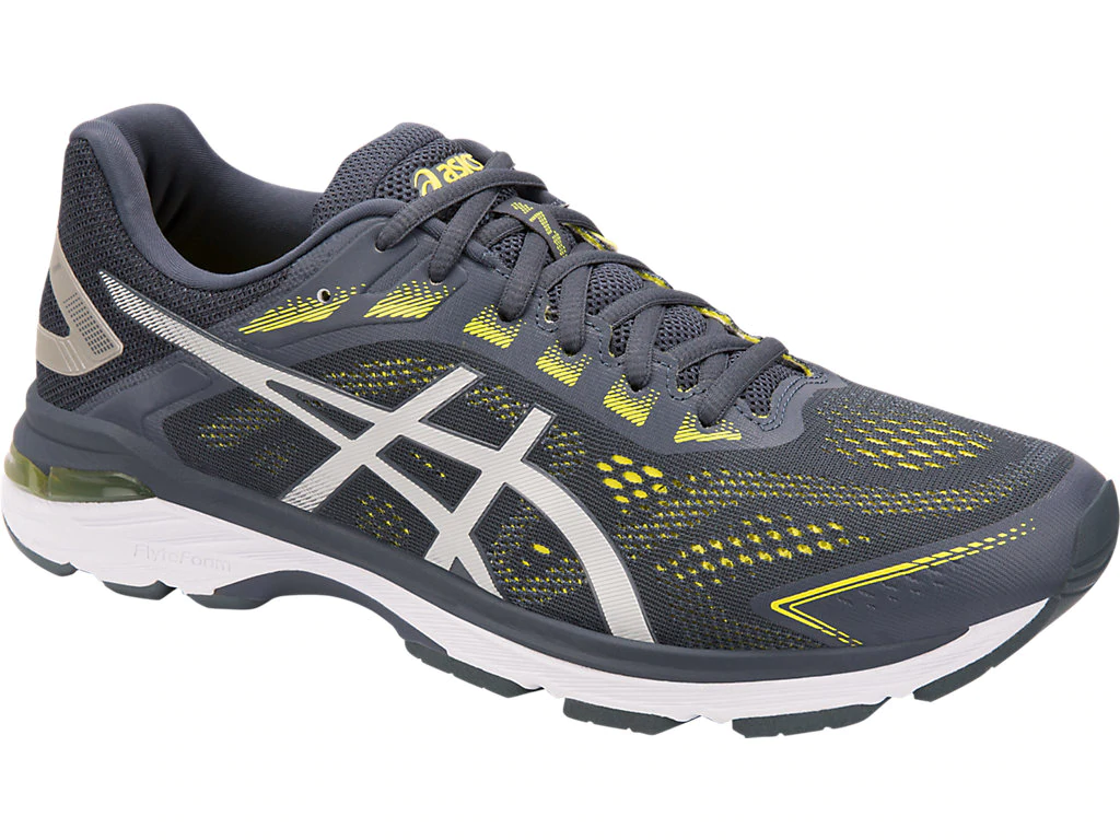 ASICS 1011A159.020 GT-2000 7 (2E) Mn's (W) Tarmac Lemon Mesh Running shoes