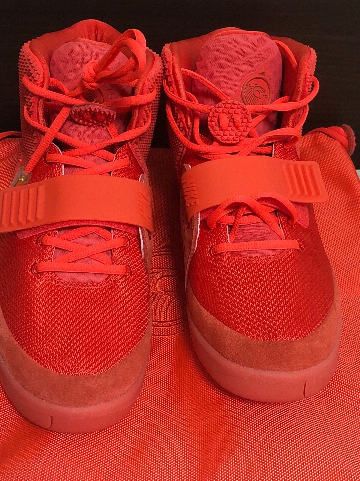 Authentic Red Nike Air Yeezy 2 Red Authentic October ed89a5