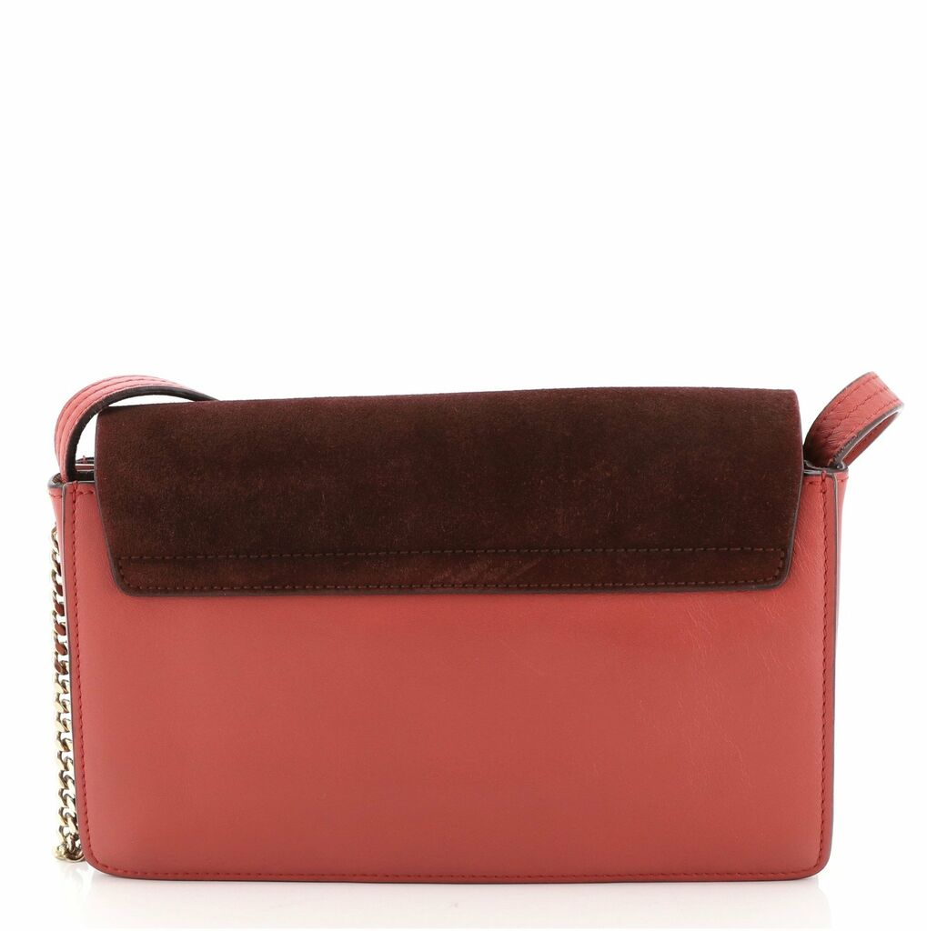 Chloe Faye Shoulder Bag Leather and Suede Small    eBay