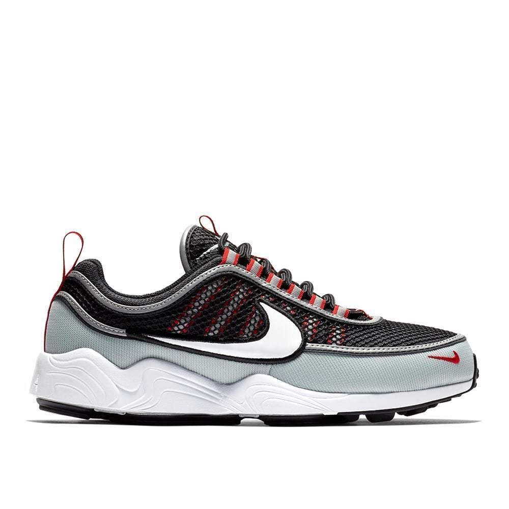 Nike Air Zoom Spiridon  926955 010 Black Red Grey Men SZ 10.5