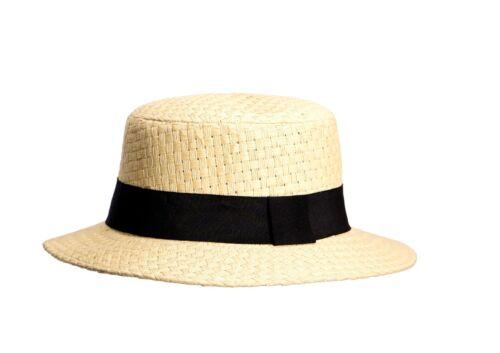 Miuno® unisex Strohhut Panama Sommer Hut für Damen und Herren H51052