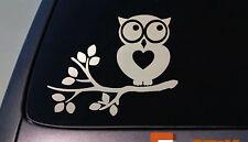 owl sticker decal car window vinyl College Girl Decorate Kid *A004*