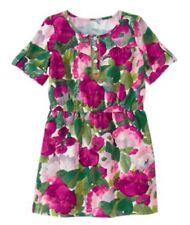 NWT Gymboree Girls Plum Pony Floral Corduroy Dress Fall Flower Size 12