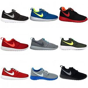iazqpw Nike Roshe Run Boys Girls Big Kids Youth Fitness Sports Casual