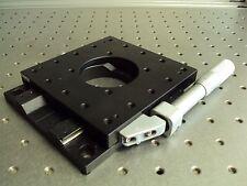 Nrc Newport Optosigma 40mm Ball Bearing Linear Slide Positioner Stage Platform