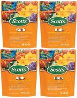 4 Ea Scotts 1009701 3 Lb Slow Release Tulip Daffodil Crocus Bulb Food Fertilizer