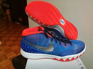 Men s New Nike Kyrie 1 USA Independence Day Red White Blue 705277 ... 7d077e25d